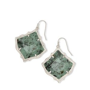 🆕Kirsten Silver Drop Earring In African Turquoise